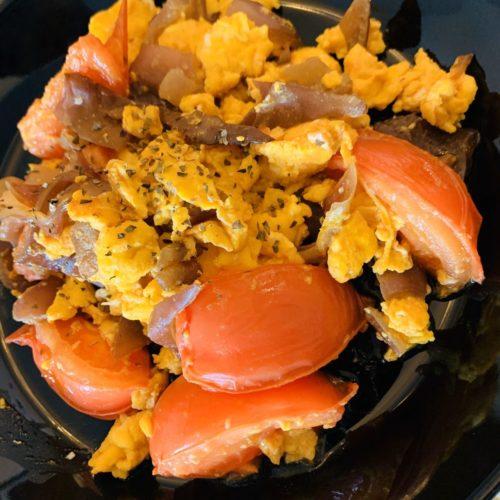 【オイシックスお試し食】トマトとキクラゲの玉子炒め