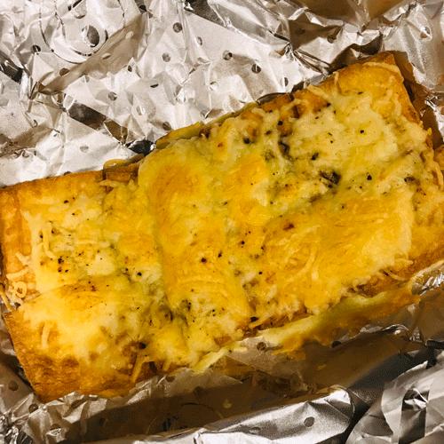 トースターで焼くだけ!厚揚げミソチーズ焼き
