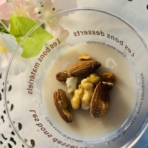 【糖質1.3g】ダイエットに最適♪アーモンドミルク寒天