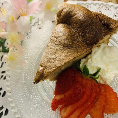 【糖質1.5g】ふわふわでおいしい♪紅茶のシフォンケーキ