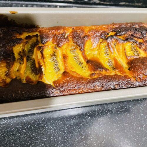 7 180度のオーブンで40分焼く(オーブンによって調整)焦げそうな時はアルミホイルをかぶせる。