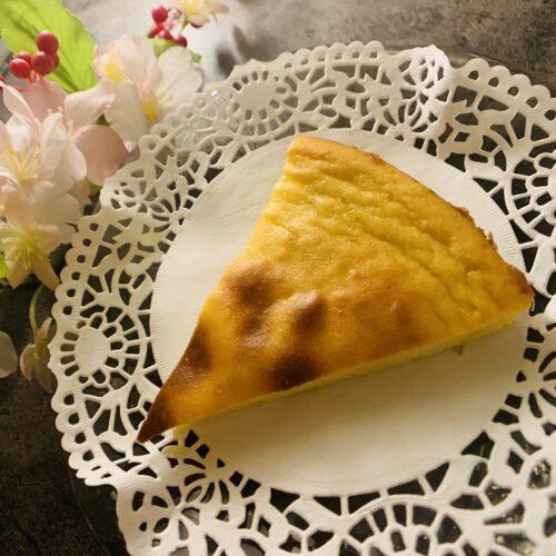 【糖質6.7g】ほくほくでおいしい♪サツマイモのプリンケーキ
