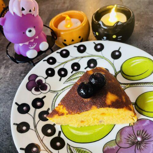 【糖質4g】炊飯器で簡単♪かぼちゃチーズケーキ